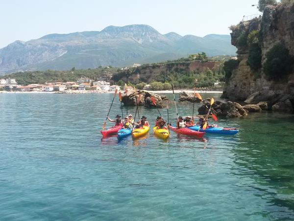 Multi activity vacation in Greece