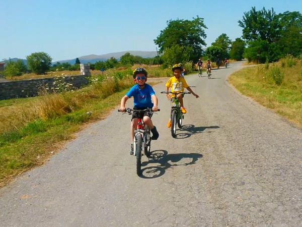 Peloponnese family activity vacation in Greece