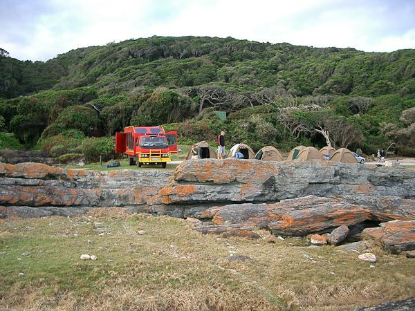 South Africa Scenic Route small group camping safari