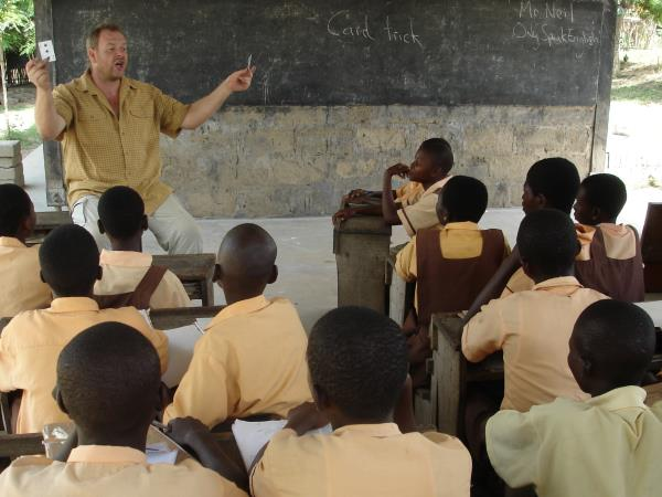 Teach English in Ghana