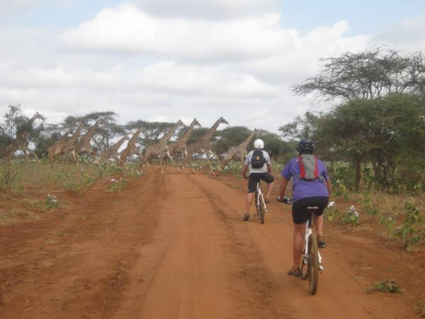 Biking vacation in Kenya & Tanzania