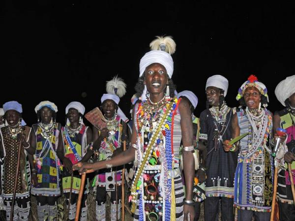 Gerewol festival vacation in Chad
