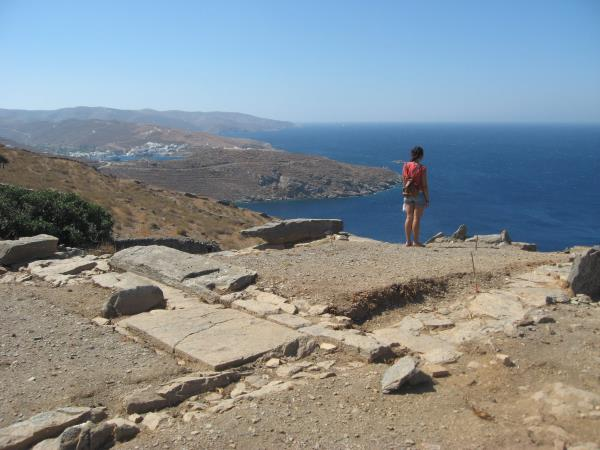 Greece hiking vacation, Kythnos