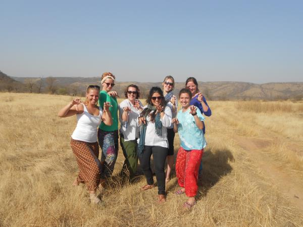 Volunteering vacation in India