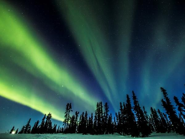 Yukon Northern Lights holiday, Canada