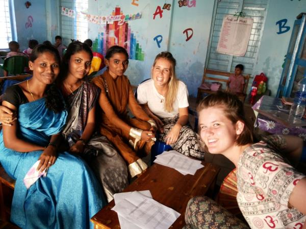 Family holiday with volunteering in India