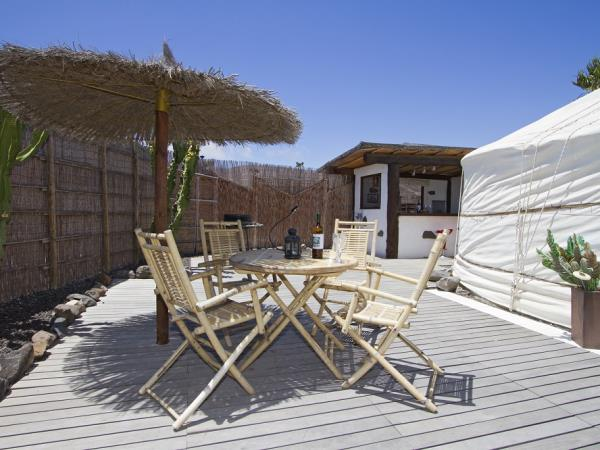 Luxury yurt accommodation in Lanzarote, Canary Islands