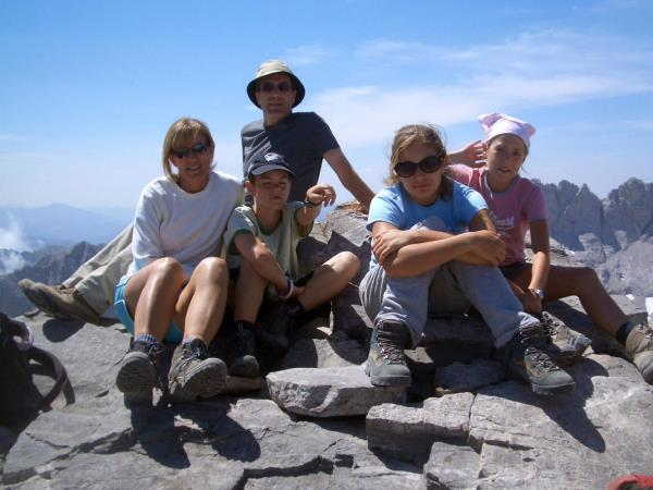 Picos family adventure vacation, Spain