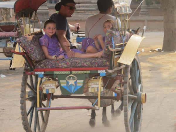 Family holiday in Burma