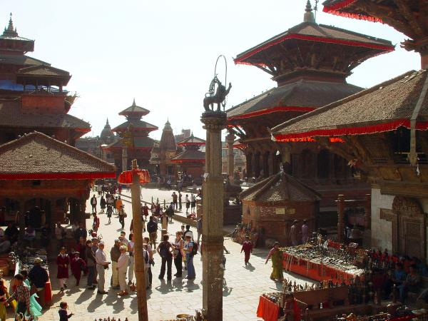 Nepal family vacation