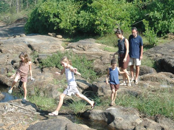 Kerala family activity vacation, India