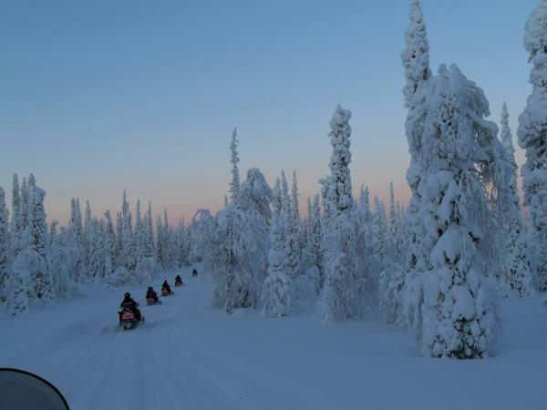 Finnish Lapland vacation, New Year in Luosto