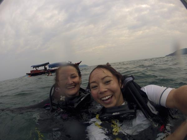Scuba diving & elephant conservation in Cambodia