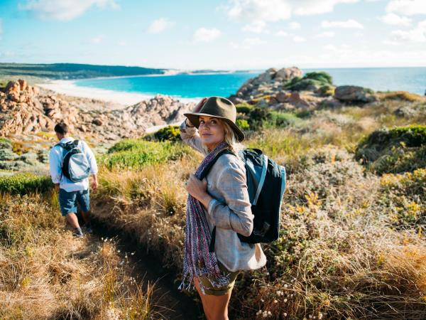 Cape to Cape track walking vacation in Western Australia