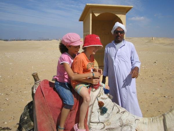 Family vacation to Jordan and Egypt