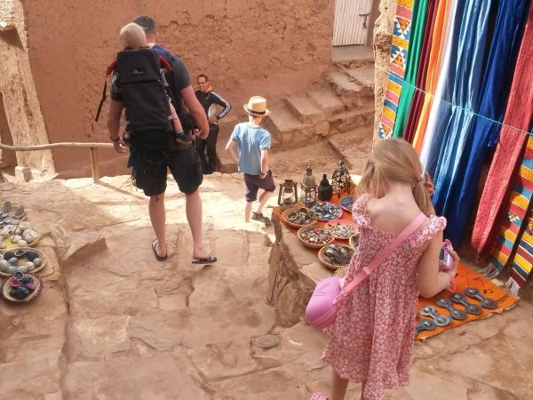 Exciting family vacation in Morocco