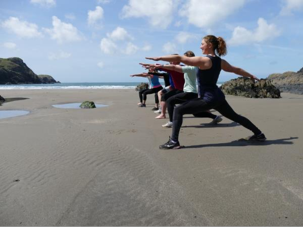 Fitness and activity holiday in Wales, UK
