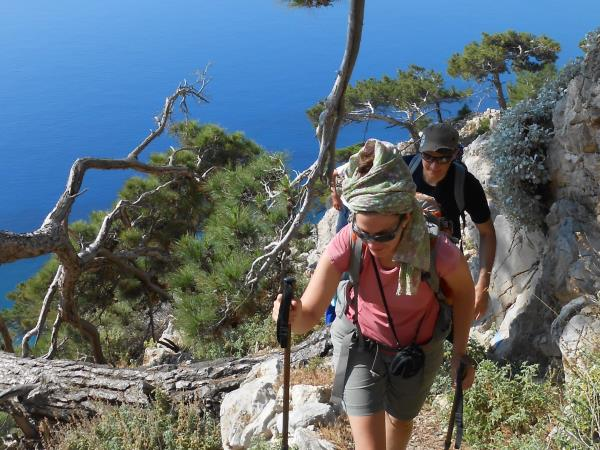 Botanical holidays on Karpathos Island, Greece