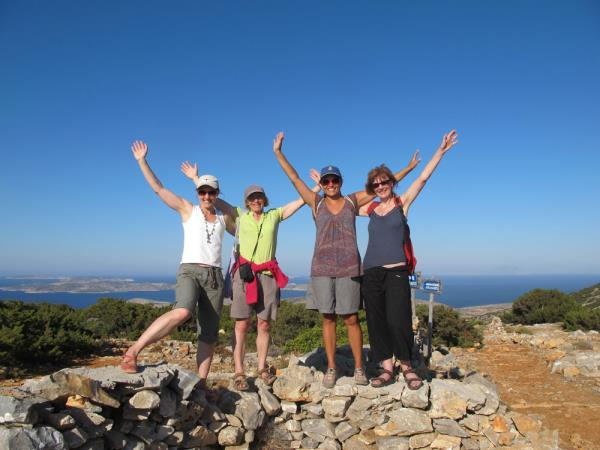 Cyclades sailing & walking vacation in Greece