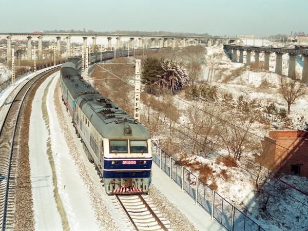 Trans Siberian rail journey, winter in Russia