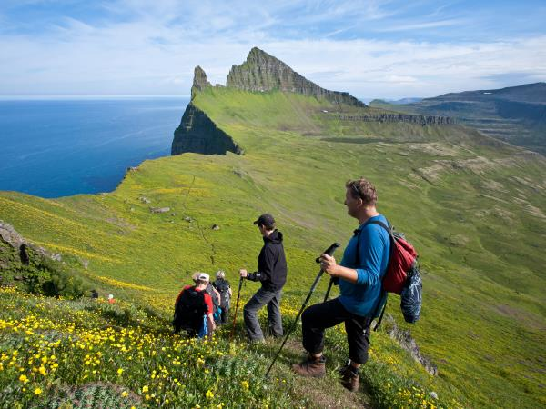 Iceland hiking vacation, West Fjords