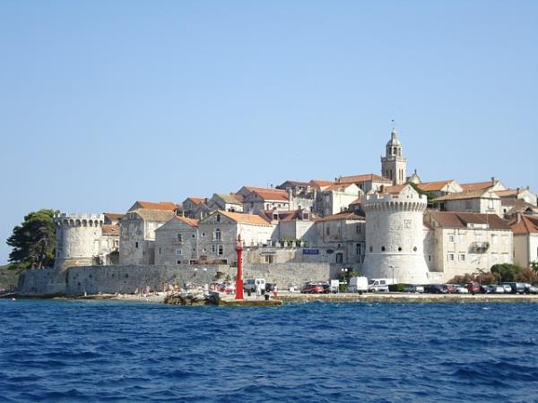 Island hopping vacation in Croatia