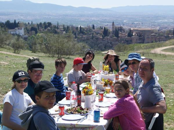 Learn Spanish for families in Granada, Spain