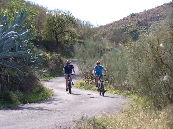 Family biking vacation, Andalucia Spain