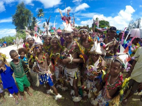 South Pacific cruise, Papua New Guinea & beyond
