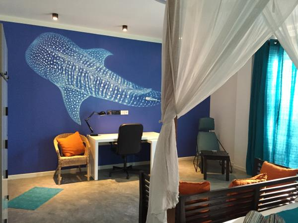 Maldives boutique dive holiday, Dhigurah Island
