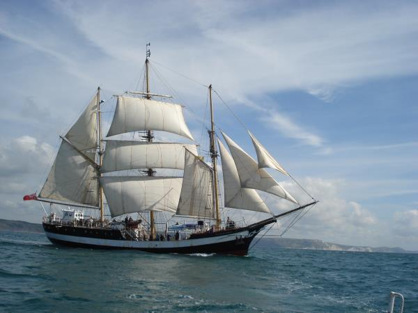 Greenwich to Sines tall ship sailing tour