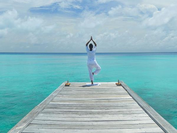 Yoga vacation in the Maldives