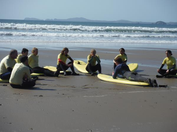 Pembrokeshire activity weekend in Wales