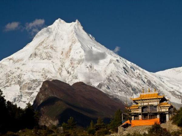 Manaslu circuit trek in Nepal