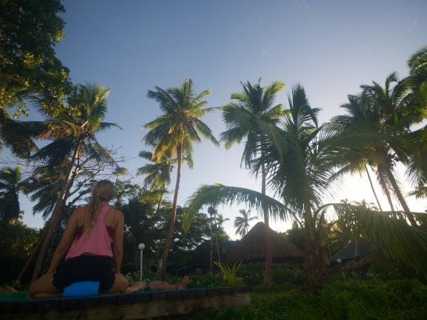 Fiji yoga retreat vacation
