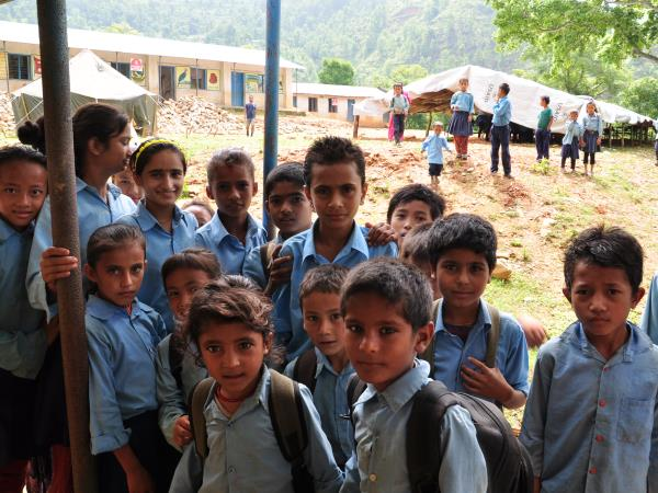 Volunteer as a teaching assistant in Nepal