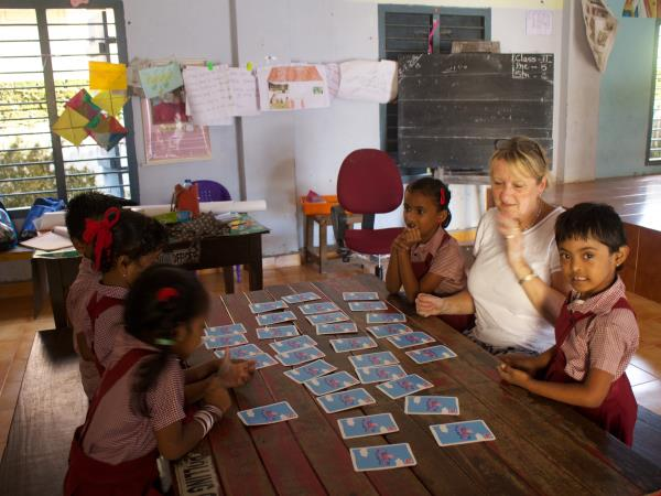Womens empowerment volunteering in India