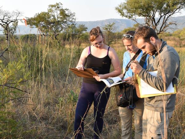 Wildlife conservation project in Swaziland, South Africa