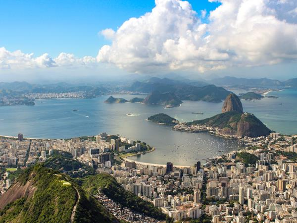 Honeymoon in Brazil and Argentina, cities & beaches