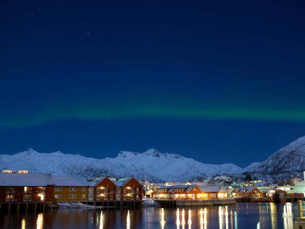 Northern Lights vacation, Lofoten Islands, Norway