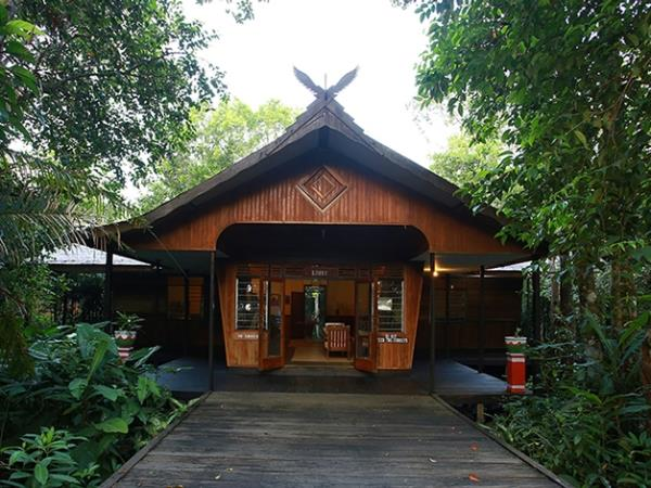 Borneo ecolodge accommodation