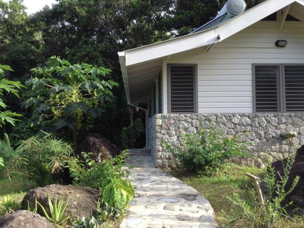 Riverside vacation accommodation in Dominica