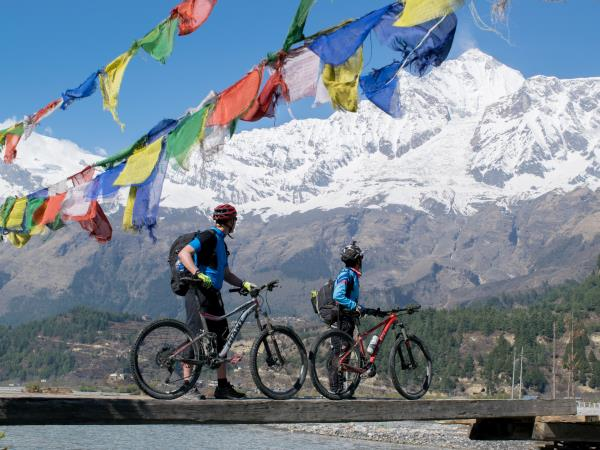 Extreme activity vacation in Nepal