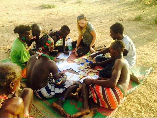 Education volunteering with remote community in Ethiopia
