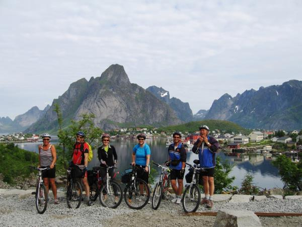 Lofoten Islands self guided cycling vacation, Norway