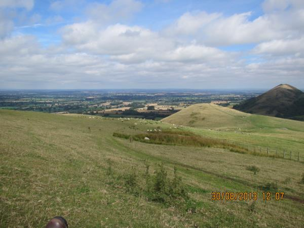 Shropshire Hills self guided walking vacation