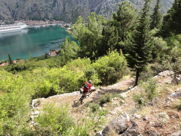 Montenegro mountain biking vacations, self guided
