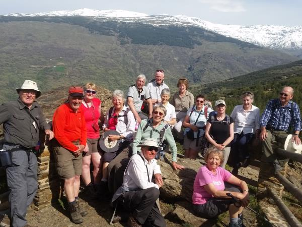 Las Alpujarras guided hiking vacation, Spain