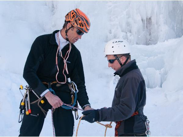 Ice Climbing vacation in the French Alps