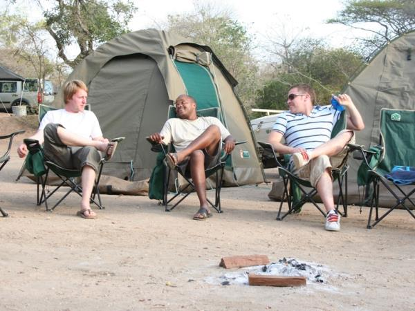 Kruger big game camping Safari in South Africa, 5 day